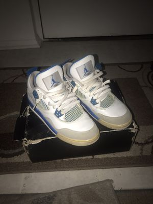 Jordan 4 MILITARY BLUES for Sale in Silver Spring, MD