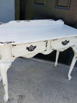 Farmhouse Shabby Chic Hall Sofa Table Solid Wood for Sale in Ocala,  FL