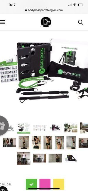 BodyBoss 2.0 full portable home gym. for Sale in Coral Springs, FL