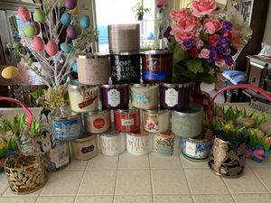 Aromatic and Scented Candles, Buy 5 & Get 1 Holder FREE as available! for Sale in Placentia, CA