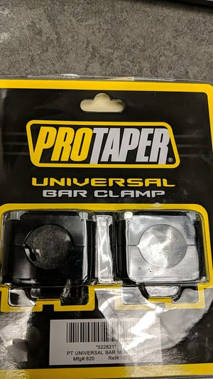 PRO TAPER UNIVERSAL BAR CLAMP for Sale in Tacoma, WA