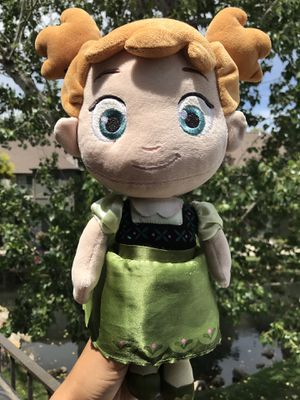 "Anna Doll Frozen Doll Stuffed Plush Toy Baby Anna 12"" Plush Doll Disney Princess for Sale in Murray, UT"