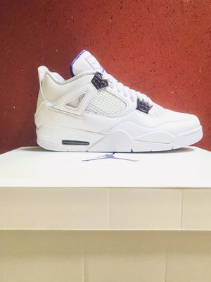 Nike Air Jordan 4 Retro Metalic Purple (Size 10.5) for Sale in San Jose, CA