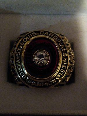 St Louis Cardinals Championship Ring for Sale in BRECKNRDG HLS, MO