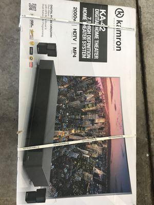2 Brand new in the Box Kamron Home Theatre Speaks for Sale in Las Vegas, NV