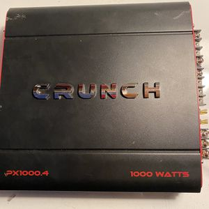 Crunch Amplifier for Sale in Stockton, CA