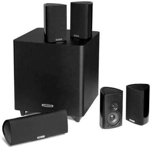Polk RM705 5.1 home theater system, like new