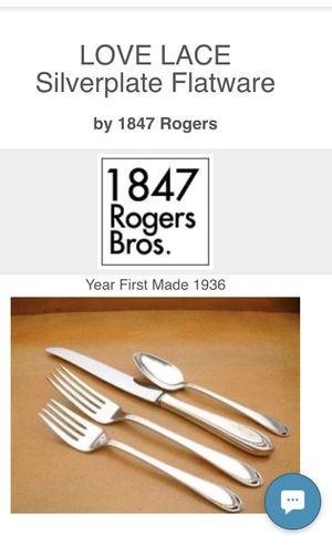 1847 Rogers Bros. Silverware Set - 69 Piece for Sale in Vista, CA