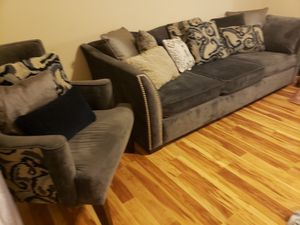 Living room Couch and accent chair for Sale in Inwood, WV