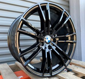 "BMw 19"" new blk m atyle rims tires set for Sale in Hayward, CA"