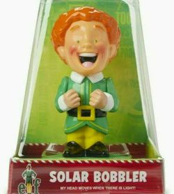 Elf Solar Bobbler! Buddy The Elf Solar Powered Bobblehead! Will Ferrell limited for Sale in Kissimmee,  FL