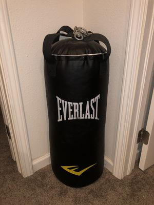 Everlast punching bag for Sale in Westminster, CO