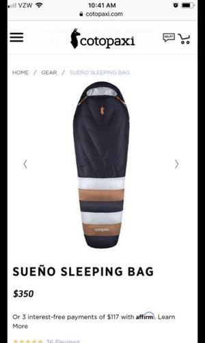 Cotopaxi sueño sleeping bag for Sale in Covina, CA