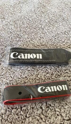 Brand new canon camera straps for Sale in Carlsbad, CA