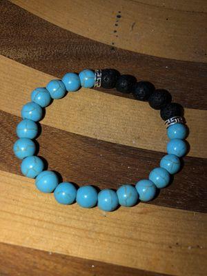 Torqouise stone lava bracelet for Sale in Stockton, CA
