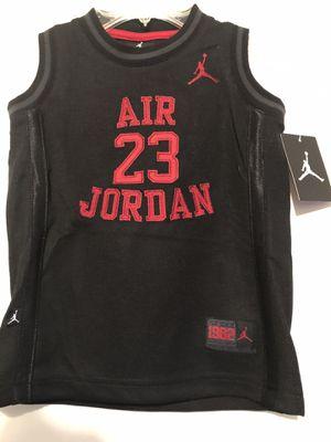 Nike Air Jordan Jumpman Tank shirt Black Toddler 4t 3-4 Years old NEW w/tag for Sale in Wichita, KS