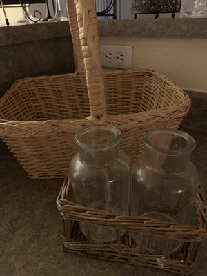 Basket 🧺 and jars for Sale in Chula Vista, CA