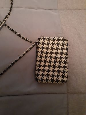 Houndstooth ID/ change purse wallet for Sale in Tuscaloosa, AL