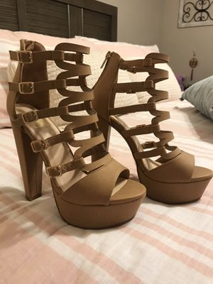 Platform High Chunky Heels Party Sandal for Sale in Bell, CA