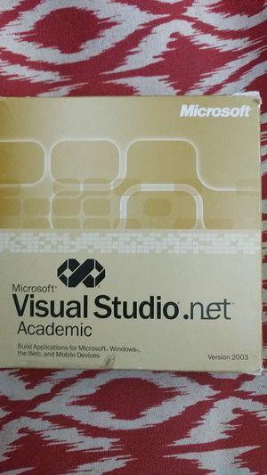 Microsoft Visual Studio .net Academic 2003 for Sale in Norfolk, VA