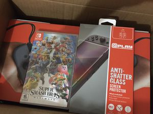 Nintendo Switch included Super Mash Game and Tempere for Sale in Pickerington, OH