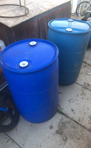 55 Gallon Plastic Drum Barrels for Sale in Fort Worth, TX