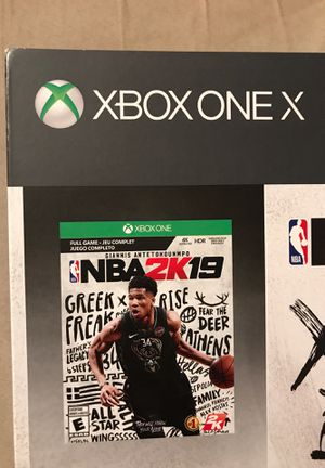 XBOX ONE X 1TB NBA 2K19 BUNDLE NEW AND SEALED! for Sale in Portland, OR