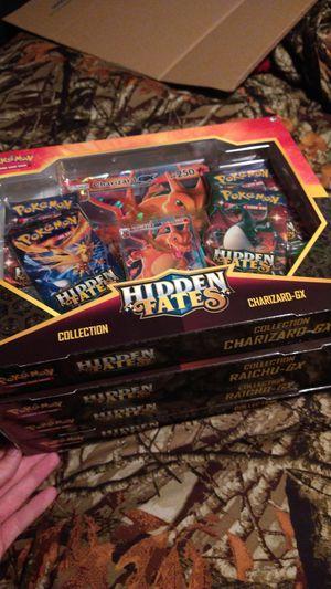 Pokemon hidden fates collection boxes for Sale in Calcutta, OH