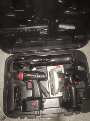 Coleman Power tool set in case for Sale in Modesto, CA