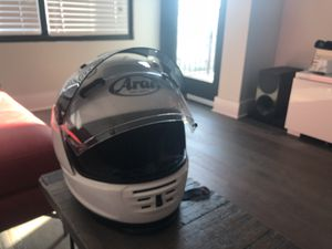 NEW - never worn - white Arai Defiant Helmet for Sale in Tampa, FL