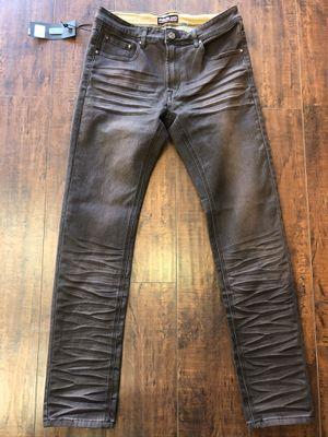 Men's brown designer jeans for Sale in Los Angeles, CA
