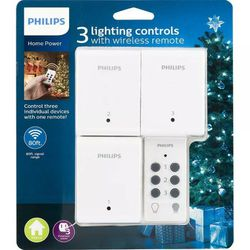 Phillips 3 Wireless On/Off Switches With Remote for Sale in Sanford,  FL