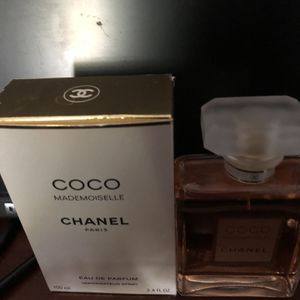 Coco Mademoiselle Chanel Paris Women's Perfume 3.4oz for Sale in Cerritos, CA