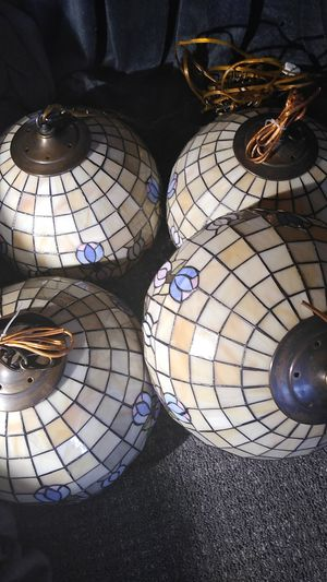 4 Hanging lights/lamps. for Sale in Reno, NV