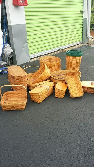 Longaberger baskets for Sale in Marietta, GA
