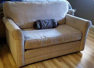 Sleeper love seat sofa like new for Sale in San Jacinto, CA