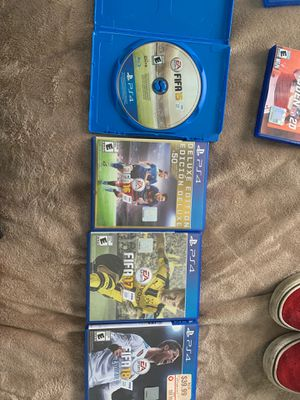 4 fifa games great condition for Sale in Springfield, VA