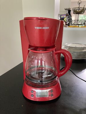 Red coffee maker for Sale in Columbia, MD