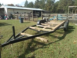 21 ft double action trailer for Sale in Gaston, SC