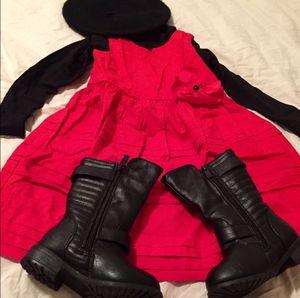 NWOT 3T Girl Janie & Jack Red Dress for Sale in Bountiful, UT