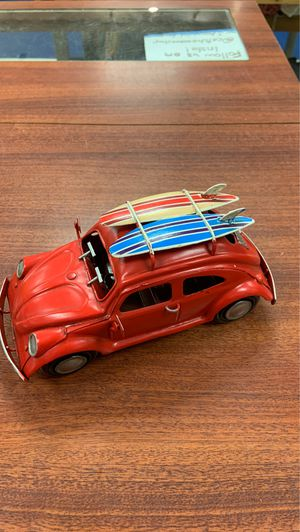 Volkswagen bug with surfboards metal for Sale in Coral Gables, FL