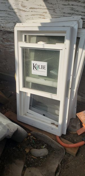3 kolbe brand windows.$20 each one Almost new. A bit dusty since they were stored away. for Sale in Tracy, CA