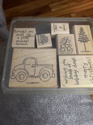 Stampin Up Loads of Love Mounted Rubber Stamp Set for Sale in Lutz, FL