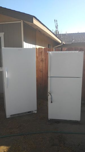 I have one FRIGIDAIRE FREEZER & ONE WHIRLPOOL for Sale in Modesto, CA