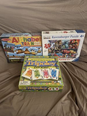 Kids puzzles and games for Sale in Glendale, AZ