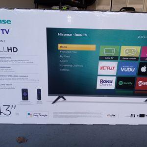"BRAND NEW 43"" ROKU SMART TV for Sale in Stone Mountain, GA"