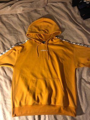 Yellow adidas hoodie for Sale in Denver, CO