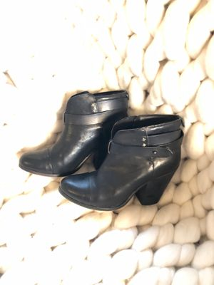 RAG & BONE Black Leather Ankle Boots for Sale in Grove City, OH