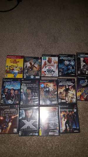 PS2 games for Sale in Saginaw, TX