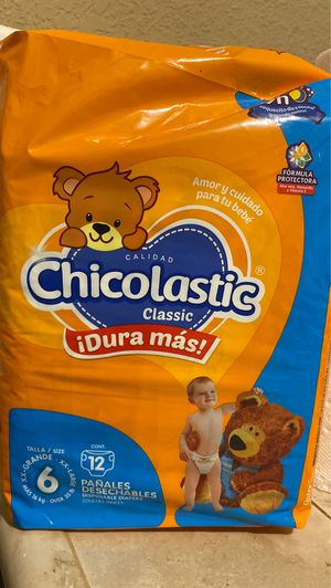 Chicolastic classic diapers size 6 for Sale in Oceanside, CA